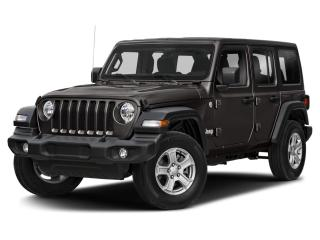 New 2021 Jeep Wrangler Unlimited Altitude 4x4 for sale in Milton, ON