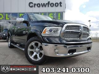 Used 2017 RAM 1500 Laramie CREWCAB for sale in Calgary, AB