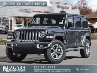 Used 2021 Jeep Wrangler UNL SAHARA | 2.99% FIN AVAILABLE for sale in Niagara Falls, ON