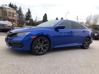 Used 2019 Honda Civic Sedan Sport CVT for sale in Surrey, BC