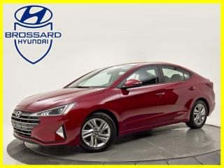 Used 2019 Hyundai Elantra PREFERRED TOIT OUVRANT CRUISE ADAPTATIF BLUETOOTH for sale in Brossard, QC