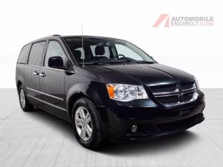 Used 2016 Dodge Grand Caravan CREW PLUS STOW N GO  CUIR CAMERA DE RECUL MAGS for sale in St-Hubert, QC