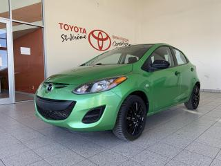 Used 2012 Mazda MAZDA2 * MAN GX * AIR CLIMATISE * 65 600 KMS * for sale in Mirabel, QC