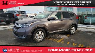 Used 2017 Honda CR-V Touring for sale in Sorel-Tracy, QC