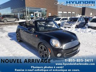 Used 2015 MINI Cooper Convertible CONVERTIBLE CUIR BANCS CHAUFF BLUETOOTH for sale in Sherbrooke, QC
