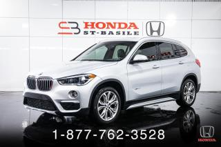 Used 2018 BMW X1 X1 + 28i + xDRIVE + CIUR + TOIT PANO + W for sale in St-Basile-le-Grand, QC