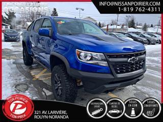 Used 2019 Chevrolet Colorado 4WD ZR2 (frais vip 395$ non inclus) for sale in Rouyn-Noranda, QC