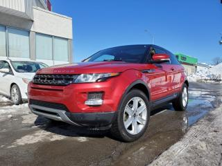 Used 2013 Land Rover Evoque 2D Coupe Pure Plus *NAV*CAMERA*PANORAMIQUE* ++ for sale in St-Jérôme, QC