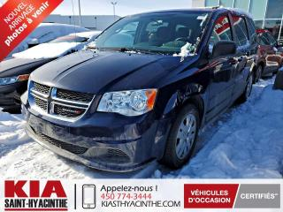 Used 2016 Dodge Grand Caravan SXT ** GR ÉLECTRIQUE + A/C for sale in St-Hyacinthe, QC