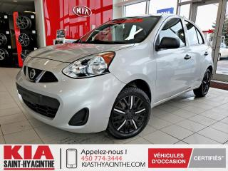 Used 2015 Nissan Micra S for sale in St-Hyacinthe, QC