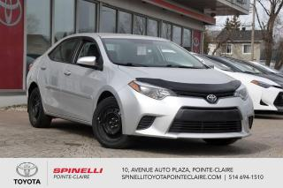 Used 2016 Toyota Corolla LE SIÈGES CHAUFFANT, CAMÉRA DE RECUL for sale in Pointe-Claire, QC