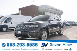 Used 2018 Jeep Grand Cherokee Summit  NAVI/FULL SUNROOF/ ONLY 49,000 KMS for sale in Concord, ON