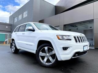 Used 2014 Jeep Grand Cherokee 4x4 Overland for sale in Richmond, BC
