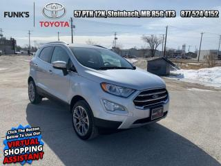 Used 2018 Ford EcoSport Titanium AWD  - Navigation for sale in Steinbach, MB