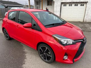 Used 2016 Toyota Yaris SE ** BLUETOOTH , CRUISE  ** for sale in St Catharines, ON