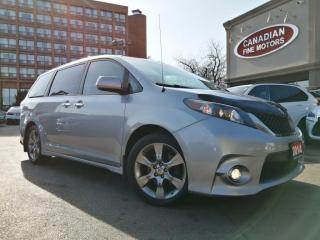 Used 2014 Toyota Sienna Sienna SE CLEAN CARFAX|8 PASS| LEATHER|ROOF | CAM | DVD for sale in Scarborough, ON