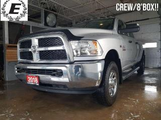 Used 2018 RAM 2500 Tradesman/CREW/8' BOX!! for sale in Barrie, ON