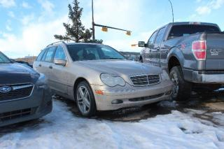 Used 2004 Mercedes-Benz C-Class Wagon C240 for sale in Calgary, AB