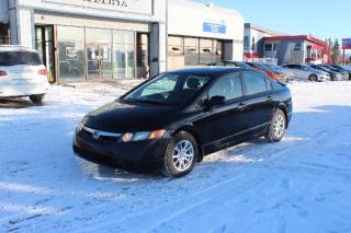 Used 2007 Honda Civic DX Sedan for sale in Calgary, AB