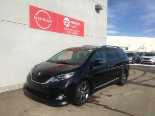 Used 2016 Toyota Sienna SE / 8 Passenger / Touch Screen / Smart Key / Leather / BlueTooth for sale in Edmonton, AB