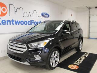 Used 2018 Ford Escape Titanium   4WD   Leather   2.0L Engine   Sunroof   One Owner for sale in Edmonton, AB