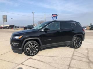 Used 2017 Jeep Compass LIMITED for sale in Tilbury, ON