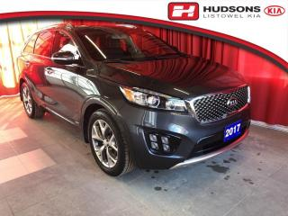 Used 2017 Kia Sorento 3.3L SX One Owner | Sunroof | Navigation Leather Seats | Remote Start for sale in Listowel, ON
