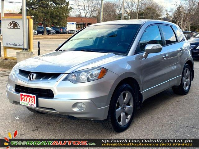 2008 Acura RDX SINGLE OWNER|AWD|LOW KM|BLUETOOTH|CERTIFIED