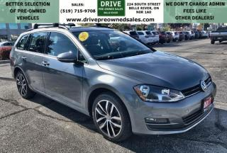 Used 2017 Volkswagen Golf Sportwagen 1.8 TSI Comfortline Heated Leather Moon Roof Bluetooth/CarPlay Backup Cam for sale in Belle River, ON