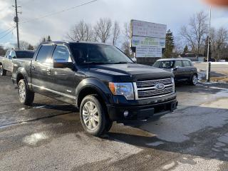 Used 2011 Ford F-150 PLATINUM for sale in Komoka, ON