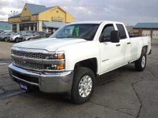 Used 2019 Chevrolet Silverado 2500 WT DoubleCab 4x4 6.0L 8ft Box BackUpCam for sale in Brantford, ON