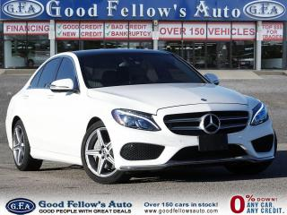 Used 2017 Mercedes-Benz C300 SPORT PKG, 4MATIC, BLIND SPOT, PANORAMIC ROOF, NAV for sale in Toronto, ON