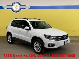 Used 2014 Volkswagen Tiguan AWD, Leather, Sunroof, 2 Years Warranty for sale in Vaughan, ON
