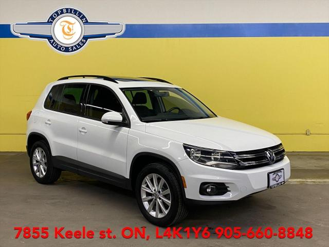 2014 Volkswagen Tiguan AWD, Leather, Sunroof, 2 Years Warranty