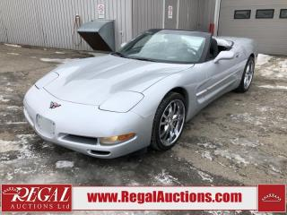 Used 2000 Chevrolet Corvette Convertible 2D COUPE RWD 5.7L for sale in Calgary, AB