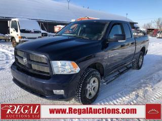 Used 2012 RAM 1500 Sport Quad Cab SWB 4WD 5.7L for sale in Calgary, AB