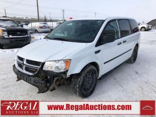 Used 2017 Dodge Grand Caravan CVP Wagon 3.6L for sale in Calgary, AB