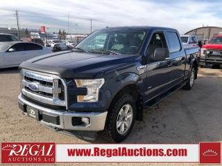 Used 2017 Ford F-150 XLT SUPERCREW 4WD 3.5L for sale in Calgary, AB