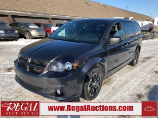 Used 2018 Dodge Grand Caravan GT Wagon 3.6L for sale in Calgary, AB