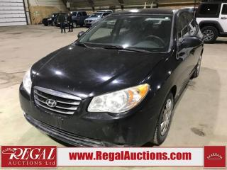 Used 2010 Hyundai Elantra GL 4D Sedan for sale in Calgary, AB