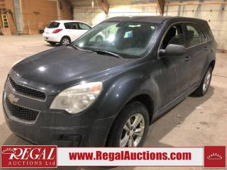 Used 2011 Chevrolet Equinox LS 4D Utility AWD for sale in Calgary, AB