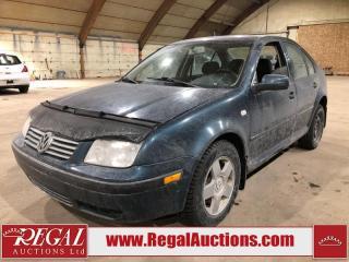 Used 2001 Volkswagen Jetta 4D Sedan for sale in Calgary, AB