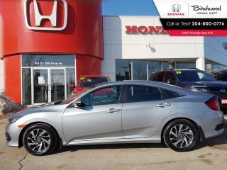 Used 2017 Honda Civic EX Apple CarPlay - Android Auto - Sunroof for sale in Winnipeg, MB