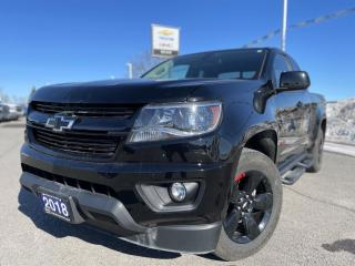 Used 2018 Chevrolet Colorado LT EXTENDED CAB 4X4 REDLINE EDITION WITH HEATED SEATS AND REMOTE START for sale in Carleton Place, ON