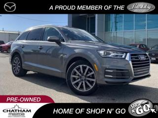 Used 2017 Audi Q7 3.0T Komfort SALE PENDING for sale in Chatham, ON