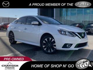 Used 2017 Nissan Sentra 1.6 SR Turbo Manual   Premium Package for sale in Chatham, ON