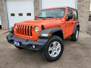 Used 2018 Jeep Wrangler SPORT for sale in Sarnia, ON