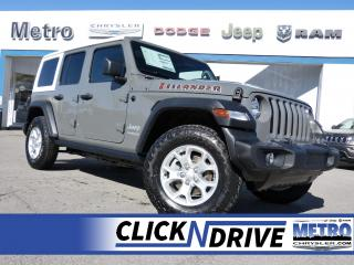 New 2021 Jeep Wrangler Unlimited Islander for sale in Ottawa, ON