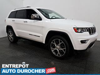 Used 2019 Jeep Grand Cherokee Limited - AWD - CUIR - CLIMATISEUR for sale in Laval, QC