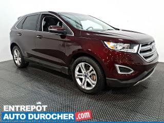 Used 2018 Ford Edge Titanium - AWD - NAVIGATION - CUIR - CLIMATISEUR for sale in Laval, QC